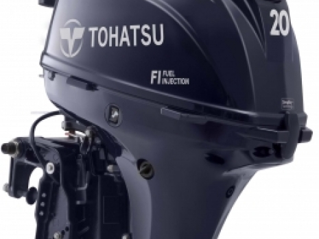 tne new in 2018 tohstsu outboard engine is probably the best in the calss, beating the suzuki and yamaha outboard 2hp fuel injected engines into second and third place. the tohatstu 20hp has been radically redesigned to loose weight and make it the best in class 20hp four stroke outboard engine. the tohatsu 20hp outboard engine features lightweight, fuel injection and is recommended by ebay, boats and outboards and ribnet. The performace of the 20hp tohatsu outboard engine is excellent, the best in UK
