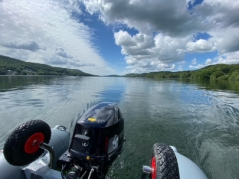F-rib 360 on Lake Windermere